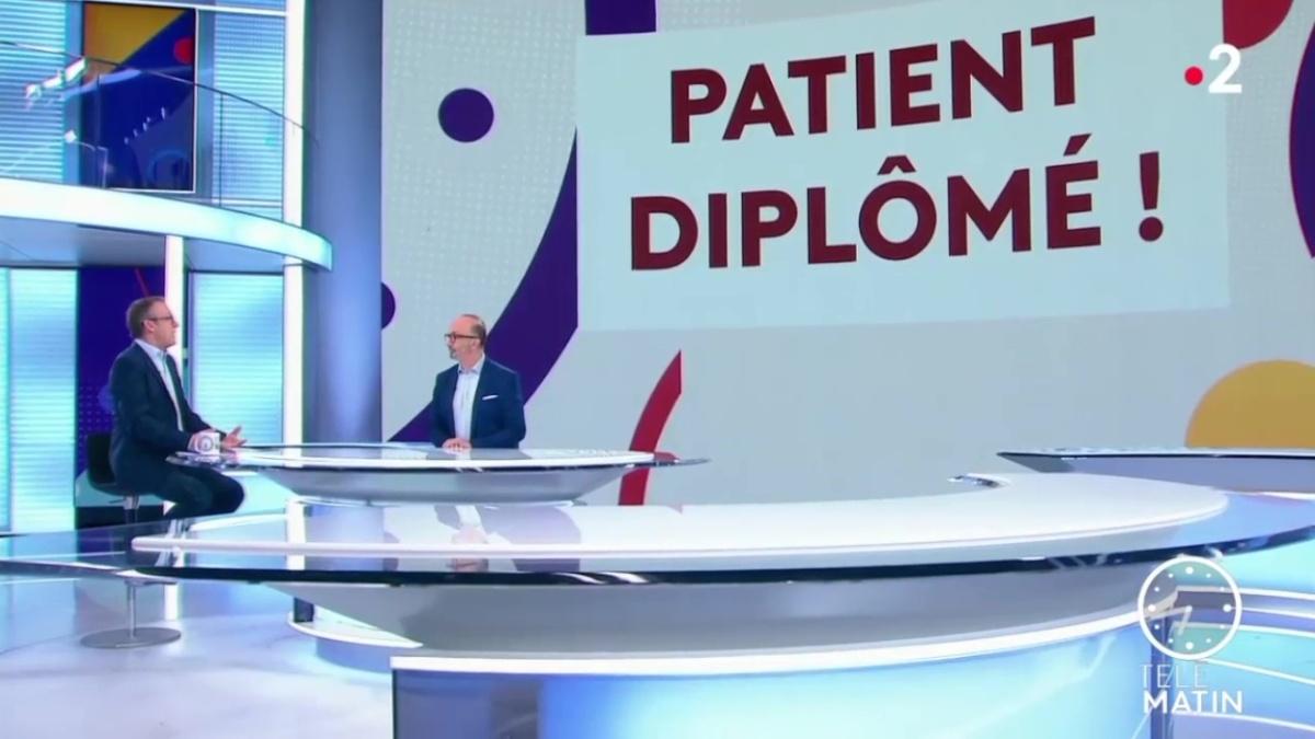 L'Université des Patients-Sorbonne invitée surFrance2